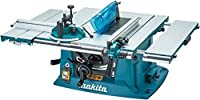 Makita MLT100 260 mm 1500 W Table Saw - Blue (7-Piece)