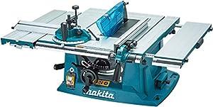 Makita MLT100 260 mm 1500 W Table Saw - Blue (7-Piece)