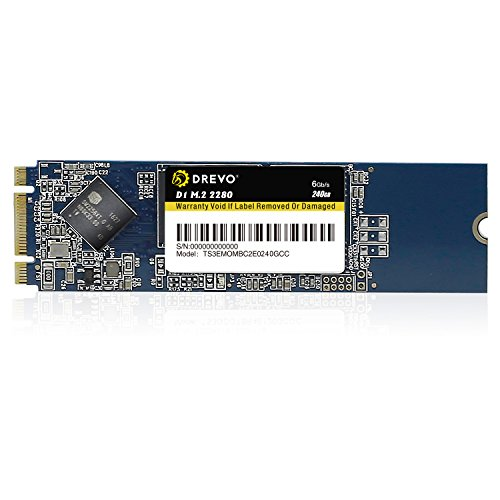 Foto DREVO D1 M.2 2280 240GB interno SSD Memoria a Stato Solido Lettura 500MB/S Scrittura 500MB/S