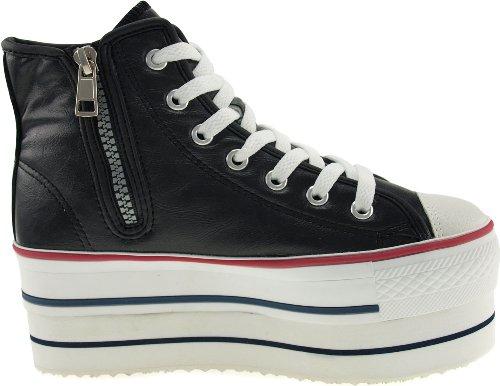 Maxstar  CN9-8H,  Damen Sneaker Low-Tops TC-Black