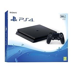 PlayStation4  – Konsole (500GB, schwarz, slim)