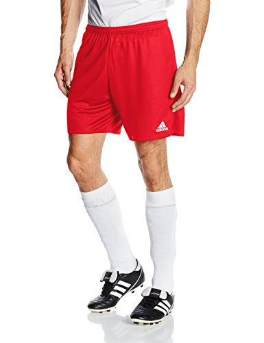 adidas Herren Shorts Mit Innenslip Parma 16, Power Red/White, L, AJ5887