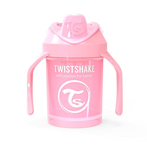 Vital Innovations 78267 Trinkbecher Twistshake Mini Cup, 230 ml, rosa