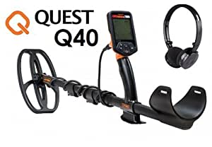 Metal Detector or monnaies Metal Detector Quest Q40Q 40or pièces New