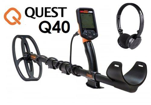 Quest Q40 - Detector de metales, para monedas, oro
