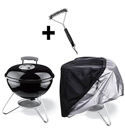 77*58cm Copertura Barbecue,Copri Barbecue,Telo Copri Barbecue,Telo Copertura Barbecue,copertura impermeabile del BBQ, copertura del barbecue, copertura della griglia con la spazzola del barbecue