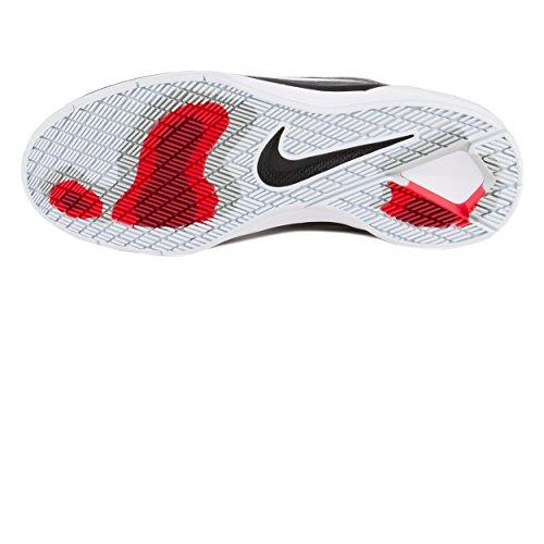 Nike SB Paul Rodriguez 8 black/metallic silver Shoes Black / White - Dark Grey - Gym Red
