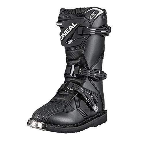 O'Neal Kids Rider Boot Schwarz Kinder MX Stiefel Moto Cross Enduro, 0324KR-1, Größe 37 - 2