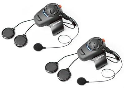SENA SMH5D-02 - Ecouteurs et Intercom Bluetooth pour Motards (Double Pack)