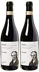 Idea Regalo - Torlasco Confezione Regalo Bottiglie Barolo Docg - Confezione da 2 X 750 ml