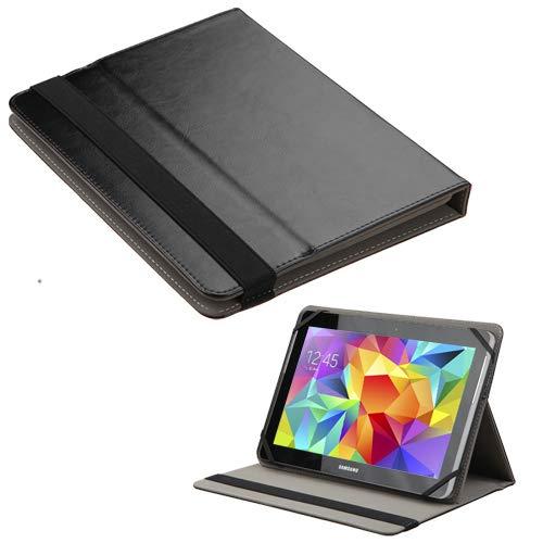 Alle Metro Pcs Handys (MyJacket Schutzhülle für Tablets mit 9-10 Zoll (22,9-25,4 cm), PU-Leder, inkl. Eingabestift, Schwarz)