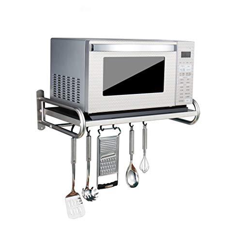 304 Edelstahl Mikrowelle Rack/Küche Regale (Größe: 53 * 38 * 18 cm)