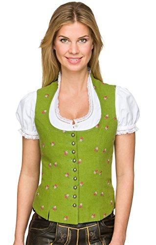 Stockerpoint Trachtenmieder Karolina grün, Gr. 34