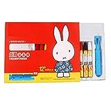 Pastel à l'huile 12 couleurs, bâton de peinture au crayon pour enfants de la maternelle