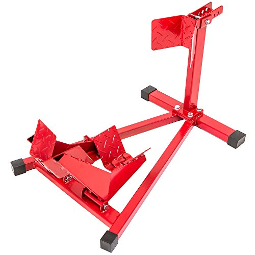 TecTake Motorradständer Motorrad Ständer für Vorderrad Radhalter Montageständer - Geeignet für Raddurchmesser: 17