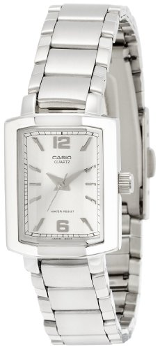 Casio (LTP-1233D-7ADF|SH49) Enticer Silver Dial Women's Analog Watch image