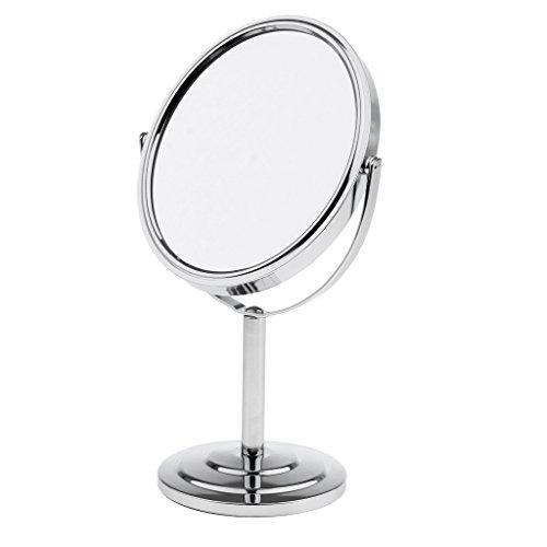 Baoblaze Miroir de Maquillage sur Table Pivotant pour Usage à la Masion ou Commercial