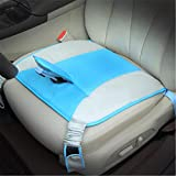 KXIN Maternity Car Seat Belt Clip Strap, Safety Seat Cushion Protection Fetal Belt Support Abdominal Band Anti-Doppler,Blue