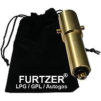 Furtzer® LPG GPL Autogas Tankadapter M10 BAJONETT lange Version (ca. 100mm) mit Stoffbeutel