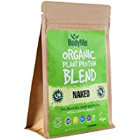 BodyMe Organic Vegan Protein Powder Blend | Naked Natural | 250g | UNSWEETENED with 3 Plant Proteins
