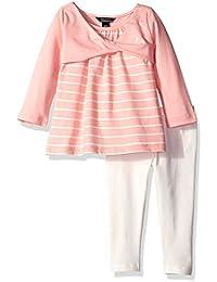 Nautica Baby Girls' Knit Top and Legging