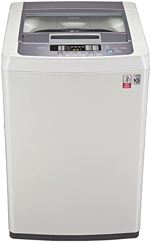 LG 6.5 kg Fully-Automatic Top Loading Washing Machine (T7569NDDL, Blue...