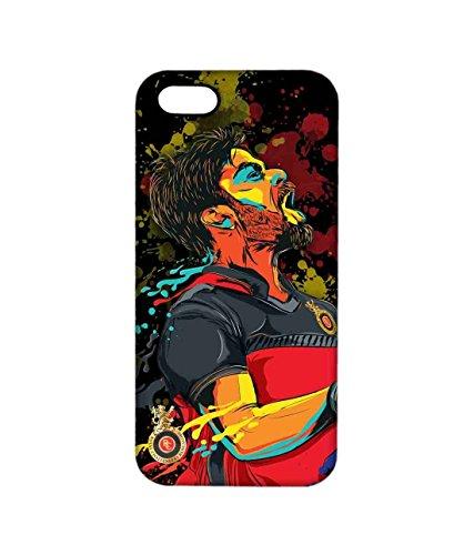 Macmerise Licensed Royal Challengers Bangalore Virat Kohli Pro Case for iPhone 5/5S