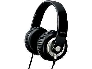 Sony MDR-XB500 Bügelkopfhörer (Extra-Bass, King-Size-Earpolster, 1500 mWatt, 104 dB/mWatt, Stereo-Mini-Klinkenstecker) schwarz/silber