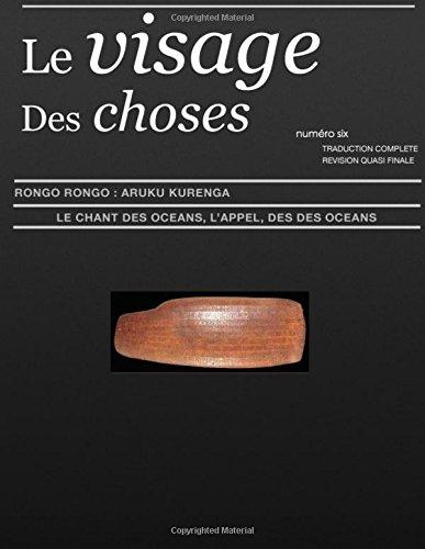 Le Visage Des Choses - numero six: Le Chant Des Oceans, L'AppeL Des Oceans: Volume 6