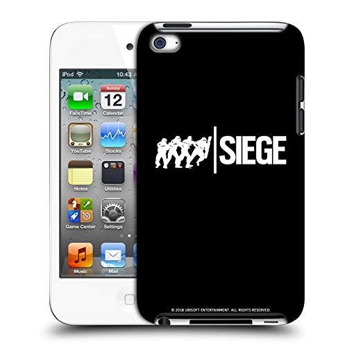 Head Case Designs Offizielle Tom Clancy's Rainbow Six Siege Angriff Logo Harte Rueckseiten Huelle kompatibel mit Apple iPod Touch 4G 4th Gen Sieg Ipod