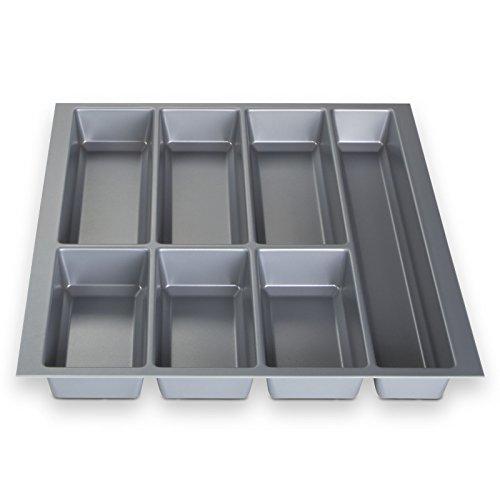 Preisvergleich Produktbild ORGA-BOX® IV UNIVERSAL Besteckeinsatz Besteckkasten Silbergrau für 50er Schublade (473,5 x 426 mm)