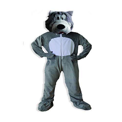 Für Kostüm Erwachsene Up Dress - Dress Up America Erwachsenes nettes graues Wolf-Kostüm