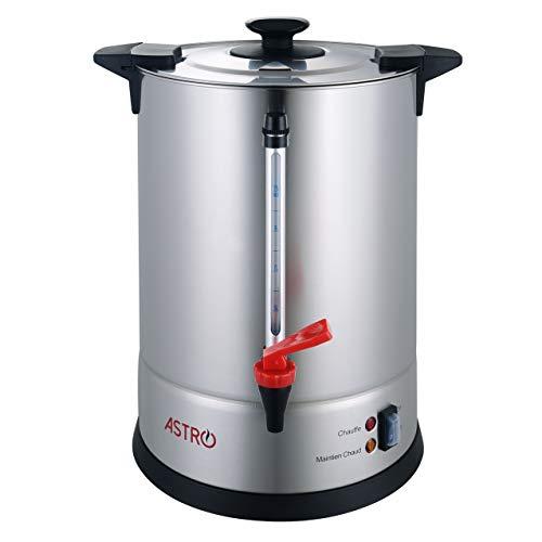 Astro - Percolador de café (100 tazas/11 litros, Acero Inoxidable)
