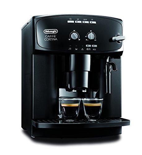 DeLonghi Caffe Cortina ESAM 2900 Kaffeevollautomat (1450 W, 1,8 l, Direktwahltasten und Drehregler,...