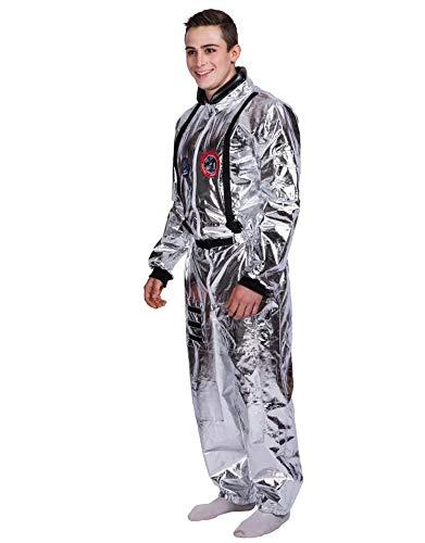thematys Astronaut Raumfahreranzug NASA Kostüm für Herren - perfekt für Fasching, Karneval & Cosplay - Einheitsgröße 160-180cm