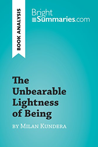 The Unbearable Lightness of Being by Milan Kundera (Book Analysis ...