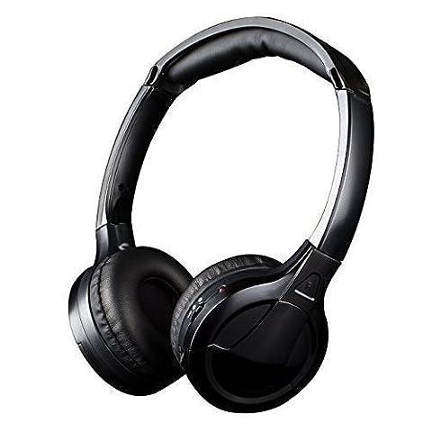 Kabellos Kopfhörer [ Null Latenz], Jelly Comb Drahtloser HF-Stereo [Wiederaufladbar] Drahtlos HiFi Over-Ear Kopfhörer / Funkkopfhörer / On-Ear Funkkopfhörer Stereo / TV-Kopfhörer mit 3,5 mm Audio-Ausgang für TV, Handy, Laptop, Verbesserte Auto-Scan und Auto Sleep,