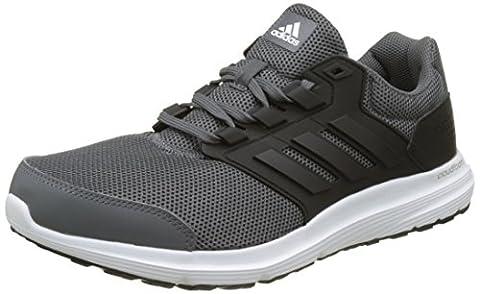 adidas Herren Galaxy 4 Laufschuhe, Grau (Grey Five F17/Core Black/Ftwr