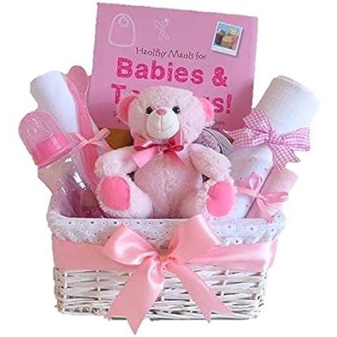 Destete Baby Book/Baby Girl cesta de regalo/cesta/Baby/de regalo de ducha nueva llegada/Baby recuerdo/envío rápido