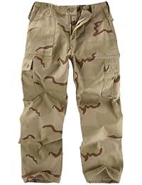 Unknown - Pantalon -  Homme Multicolore USA Three Colour Desert Camouflage