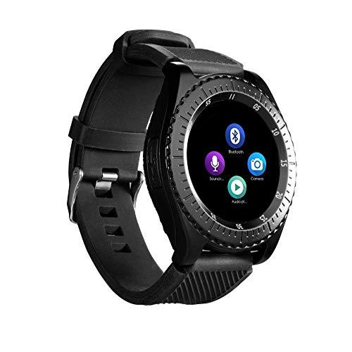 JiaMeng Smartwatches - Nuovo Z3 Bluetooth3.0 Smart Watch Supporto SIM e fotocamera TFcard per telefono Android Sport orologio intelligente può essere inserito nel telefono nero