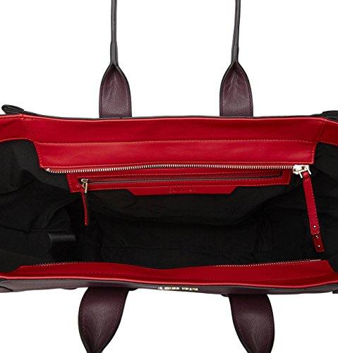 Calvin Klein Jeans Mirj4n Large Tote, Sacs portés main bordeaux/black/red