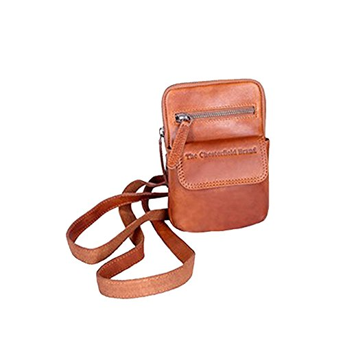 La Borsa A Tracolla In Pelle Color Chesterfield Di Sheffield Ha Un Cognac Di 13 Cm