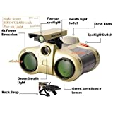 DEVICE OF URBAN INFOTECH Night Scope Toy Binocular with Pop-Up Spotlight Binoculars for Kids, Binoculars Night Scope and Night-Beam Vision,Zoom Binoculars Cool Toy Gift for Kids