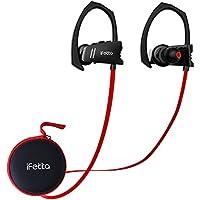 Ifecco Auriculares inalámbricos Bluetooth, auriculares Bluetooth 4.1 auriculares deportivos auriculares a prueba de sudor con