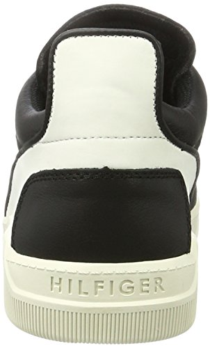 Tommy Hilfiger Herren T2385yke 1a Low-Top Schwarz (Black 990)
