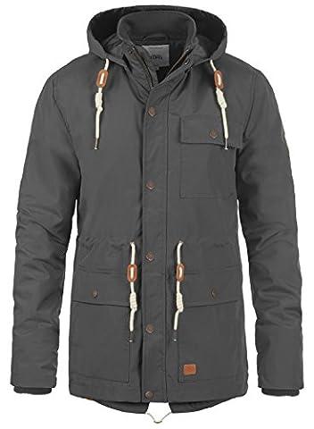 REDEFINED REBEL Magee Herren Jacke Übergangsjacke aus hochwertiger Materialqualität, Größe:S, Farbe:Antracit