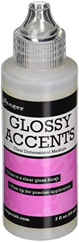 Ranger GAC17042 Glossy Accents Precision Tip, 2 fl. Ounce