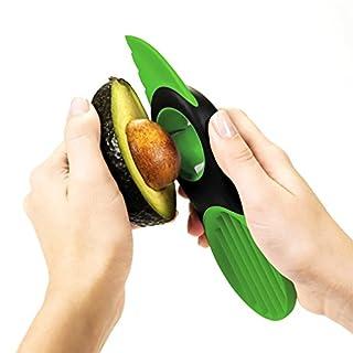 Accmart 3-in-1-Gerät zum Zerteilen, Schälen und Schneiden von Avocados, Mangos, Papayas, leicht zu reinigen