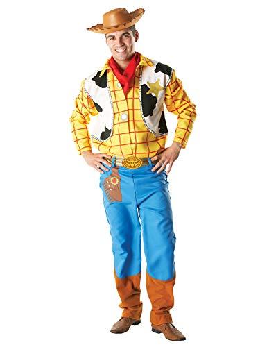 Rubie 's Offizielles Woody Kostüm Toy Story, Erwachsene Kostüm-Standard Größe (Toy Erwachsene Story Für Halloween-kostüme)